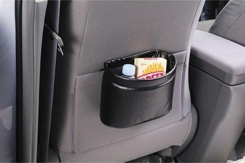 權世界~汽車用品  CARMATE 車用 本革調 橢圓超薄型可掛可放垃圾桶 置物桶 CZ3