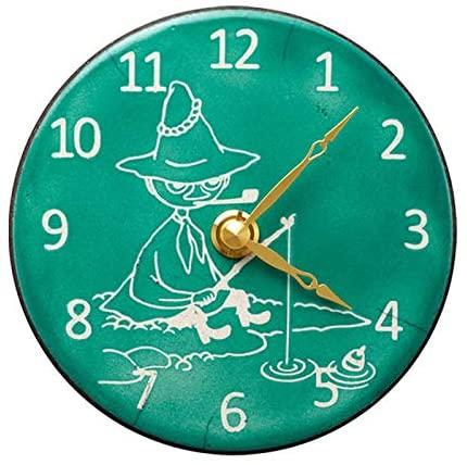 日本代購 空運 RHYTHM ZC969MT05 嚕嚕米 阿金 陶瓷 時鐘 掛鐘 壁鐘 Snufkin 掛置兩用 石英鐘