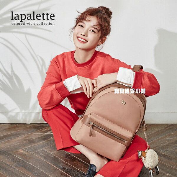 BHB010-義大利品牌Lapalette 韓國明星金裕貞同款後背包 雙肩包【韓國進口】附小馬掛件
