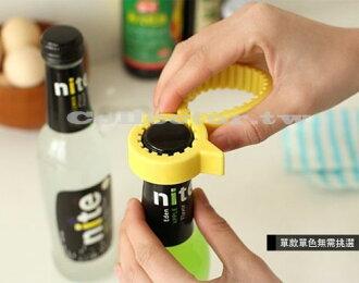 【N14052601】可愛矽膠黃小鴨開瓶器 創意防滑旋蓋萬用開罐器