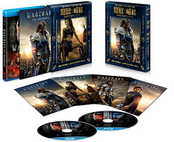魔獸:崛起(2D+3D)平裝藍光版-聯盟款 Warcraft: The Beginning(2D+3D) Alliance edition