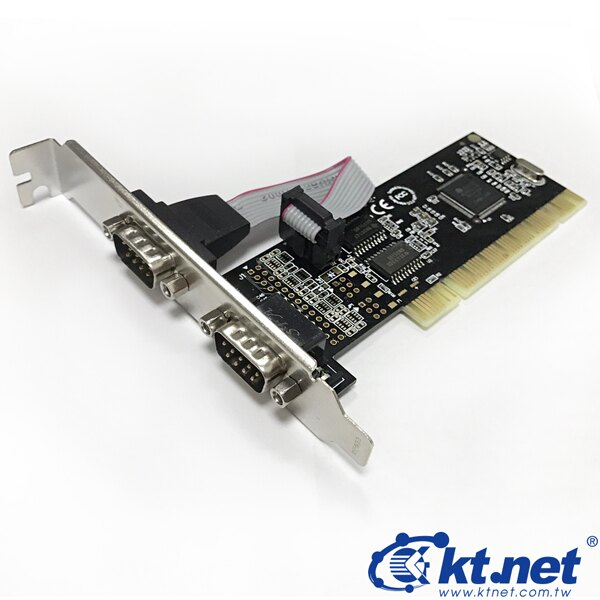 [富廉網]【KTNET】KTCAPIVJS2-MOS01 9P*2P0RT序列卡PCI
