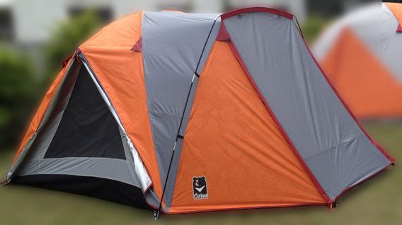 【速捷戶外】【台灣黑熊 Black Bear】加強版 西雅圖 加大版透氣6人帳篷 /抗UV.耐超高水壓/加贈地布