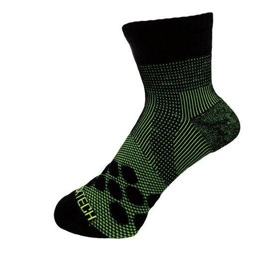 享趣戶外 《EGXtech》8字繃帶 P83 中統多功8字繃帶運動襪AIR(黑/ 淺綠)