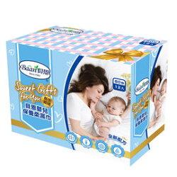【Baan 貝恩】嬰兒保養柔濕巾80抽-12入新生賀禮【淘氣寶寶】