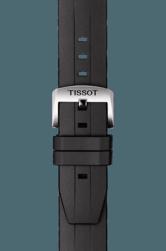 TISSOT 天梭錶 SEASTAR 1000海洋之星300米潛水機械錶T1204071704100藍x黑 / 43mm 6