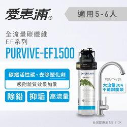 【台灣愛惠浦】EVERPURE 強效碳纖維長效型淨水器(PURVIVE-EF1500)