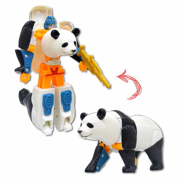 【888便利購】熊貓變體機器人(ST)(2556B)