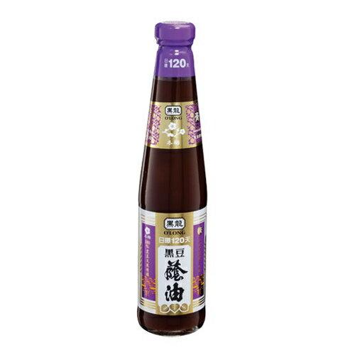 黑龍 冬梅級 黑豆蔭油(膏油) 400ml