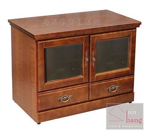 【尚品傢俱】260-01 格爾 半實木開門二抽3尺長櫃~另有4、5、6、7尺長櫃/客廳電視櫃/家庭收納TV櫃