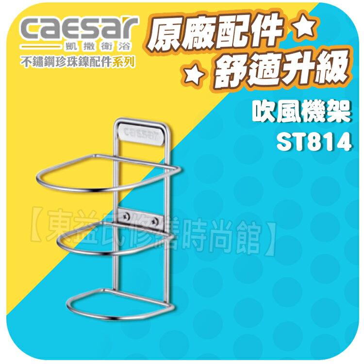 Caesar凱薩衛浴 吹風機架 ST814 不鏽鋼珍珠鎳【東益氏】漱口杯架 衛生紙架 馬桶刷架 香皂盤