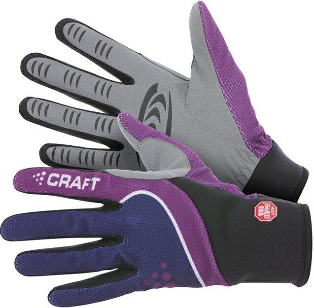 Craft 防風保暖手套 Windstopper 防風手套 193384 紫