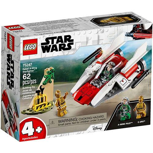 樂高LEGO 75247 STAR WARS 星際大戰系列 - Rebel A-Wing Starfighter™ - 限時優惠好康折扣