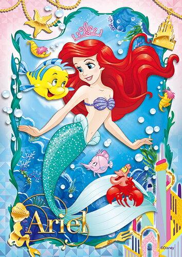 【P2 拼圖】Disney Princess 小美人魚(2)拼圖108片 HPD0108-054