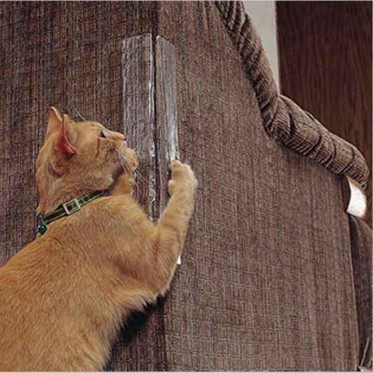 沙發床鋪防貓抓貼 4片裝 S號 39x14cm 家具牆角桌角保護貼 防抓防刮 耐磨防水貼【ZI0213】《約翰家庭百貨 8