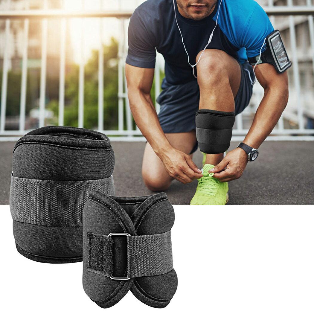 Workout Comfort Fit Ankle Wrist Cuff Wrap Walking Weight Sandbags Set 3