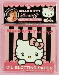 X射線【C959995】Hello Kitty 吸油面紙,美妝小物/粉底/粉餅/卸妝油/乳/眼線筆/膠