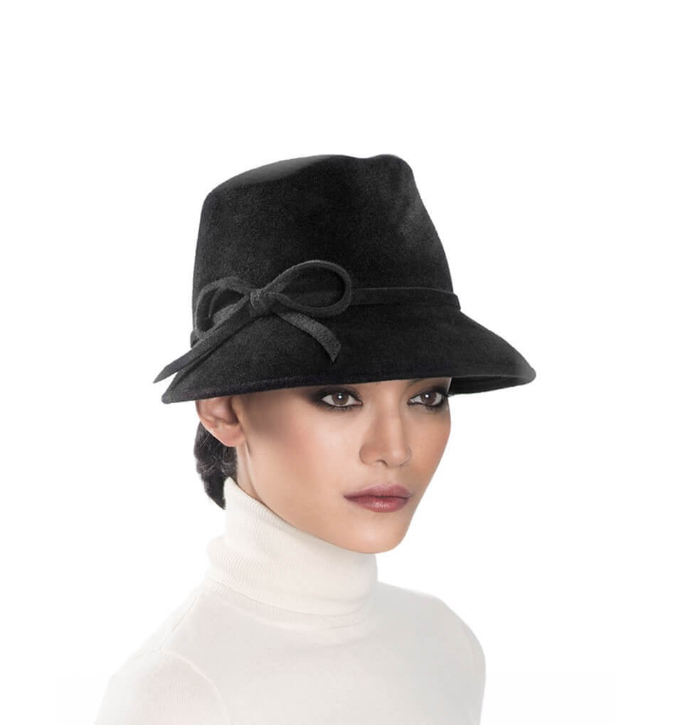 dfb784c1a58 Eric Javits Luxury Fashion Designer Women s Headwear Hat - Bow Cap Fedora 0