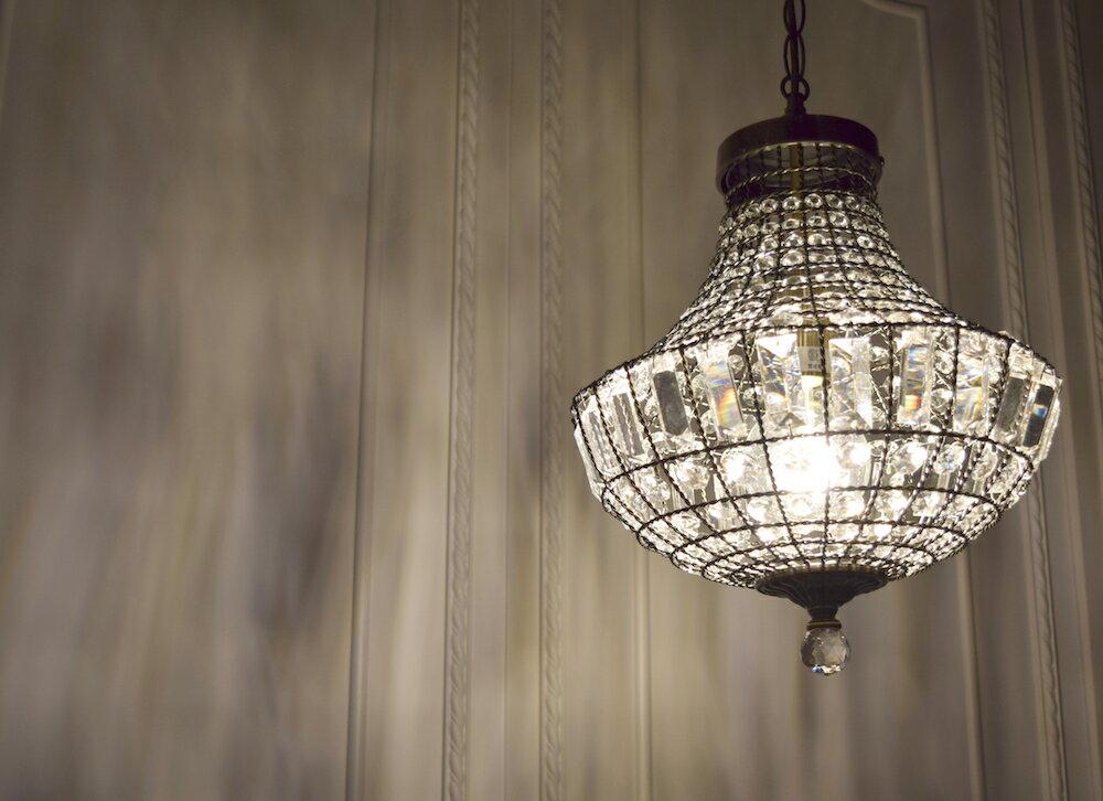古銅提籠水晶吊燈-BNL00106 8