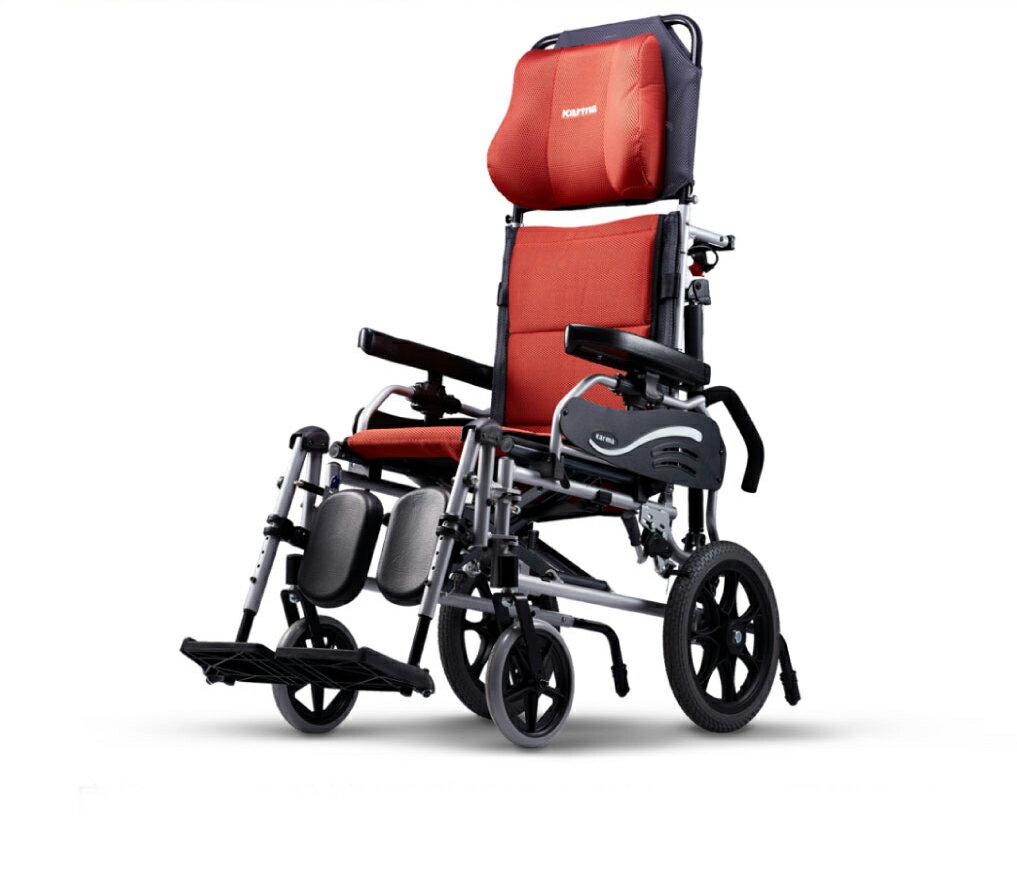 來而康 康揚 鋁合金輪椅/手動輪椅 水平椅 501 KM-5001 輪椅補助B款 附加功能A款B款 贈 輪椅置物袋