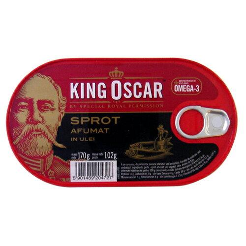 奧斯卡國王煙燻迷你鯡魚