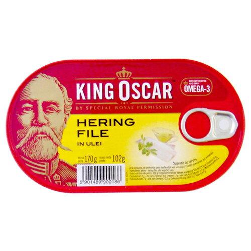 奧斯卡國王油漬迷你鯡魚排