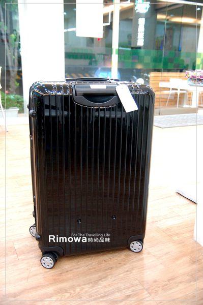 【租時尚】- [全省可郵寄]行李箱出租RIMOWA SALSA DELUXE 時尚黑,一天150元!