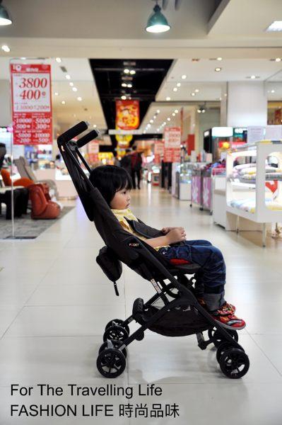【租時尚】嬰兒車出租 日本口袋型推車 POCKIT 新生兒 時尚棕色 推車出租!