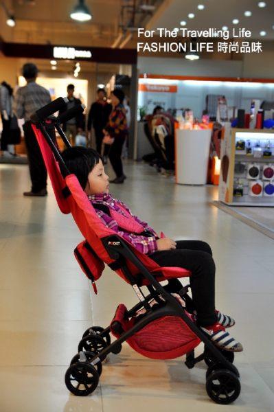 【租時尚】嬰兒車出租 日本口袋型推車 POCKIT 新生兒 時尚桃紅 推車出租!