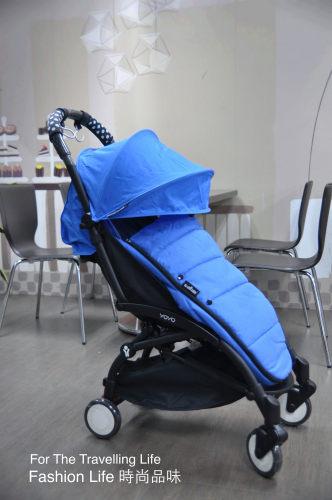 【租時尚】嬰兒車出租法國BABYZEN YOYO II 6新生兒 時尚藍 保暖毯!