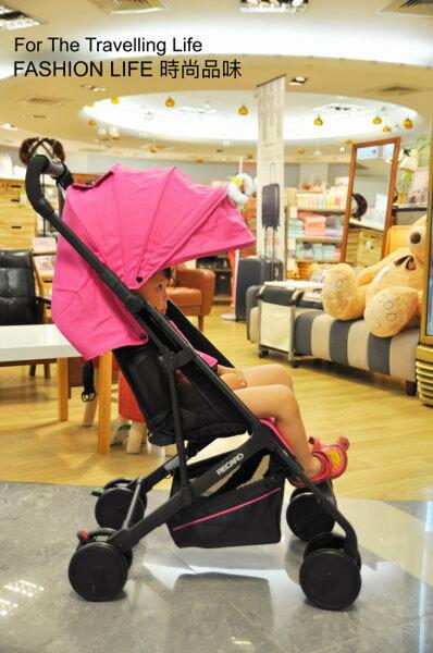 【租時尚】嬰兒車出租德國RECARO EASYLIFE 新生兒 時尚粉紅桃 推車出租!