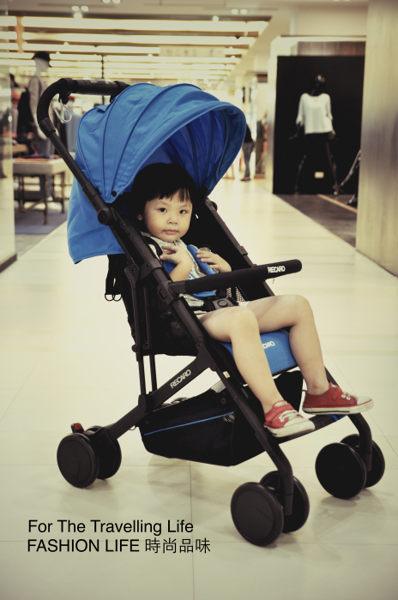 【租時尚】嬰兒車出租德國RECARO EASYLIFE 新生兒 時尚寶石藍 推車出租!