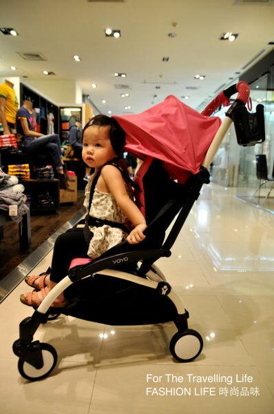 【租時尚】嬰兒車出租法國BABYZEN YOYO II 6新生兒 時尚桃紅 推車! 0