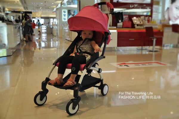 【租時尚】嬰兒車出租法國BABYZEN YOYO II 6新生兒 時尚桃紅 推車! 2