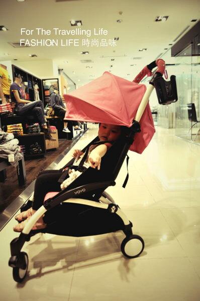 【租時尚】嬰兒車出租法國BABYZEN YOYO II 6新生兒 時尚桃紅 推車! 4