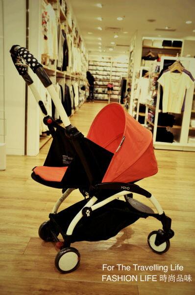 【租時尚】嬰兒車出租法國BABYZEN YOYO II 0+新生兒 時尚紅 推車!