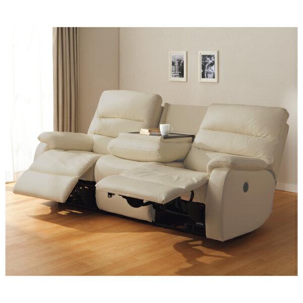 ◎(OUTLET)全皮3人用頂級電動可躺式沙發 BELIEVER MO 福利品 NITORI宜得利家居 4