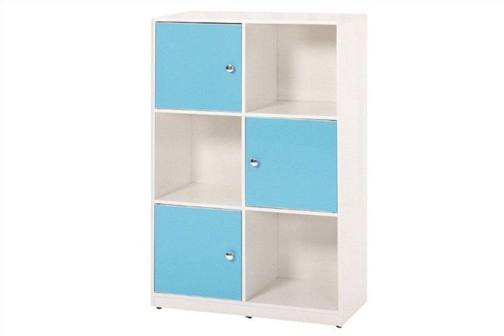 【石川家居】922-06 (藍/白色)展示櫃(CT-836-1)#訂製預購款式 #環保塑鋼P無毒/防霉/易清潔