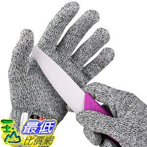 [107美國直購] 切割手套 NoCry Cut Resistant Gloves with Grip Dots for Kids High Performance Level 5 Protectio..