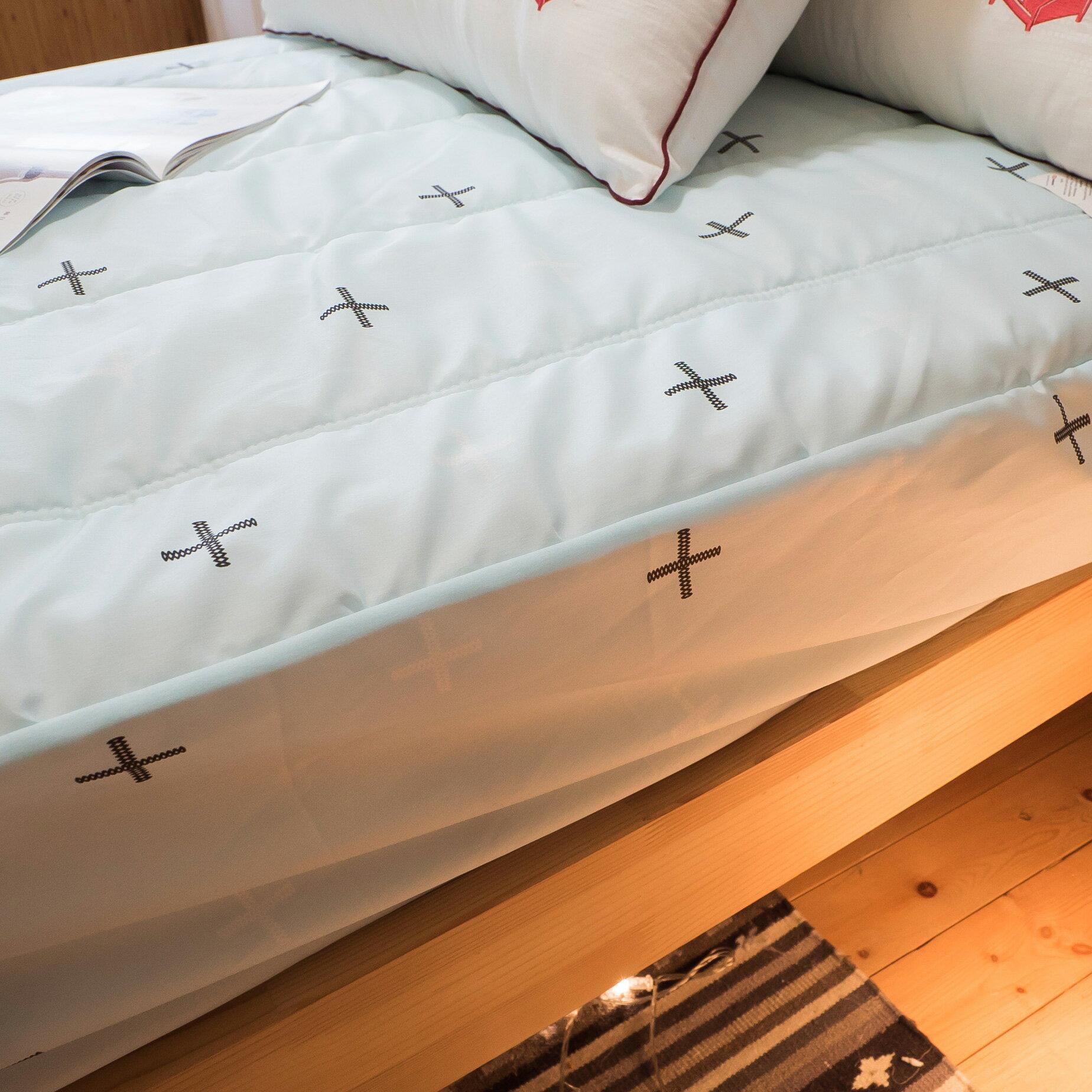 【綠十字】床包式保潔墊(尺寸可選)抗菌防污 台灣製 厚實鋪棉 可水洗 好窩生活節 9