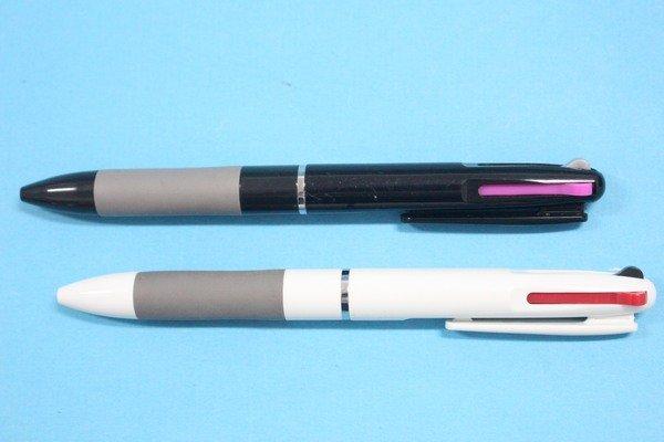 三色筆P101三色自動原子筆廣告筆(白桿.含一色印刷)一箱500支入{定10}
