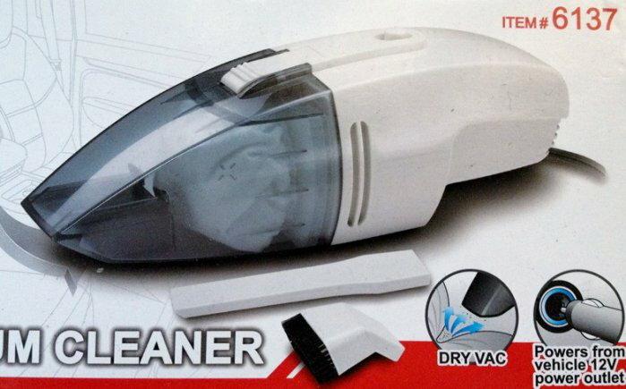權世界@汽車用品 COIDO 炫風式 迷你輕巧型 車用吸塵器 12v 60w 附毛刷頭及細部吸頭 P6137