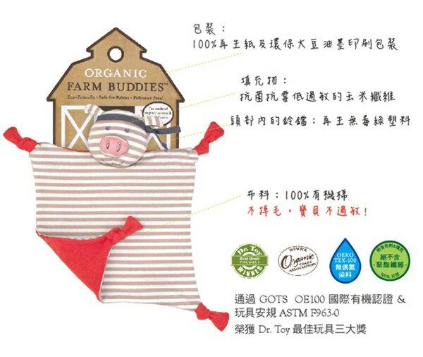 『121婦嬰用品館』OFB 安撫巾 - 功夫紅豬 3