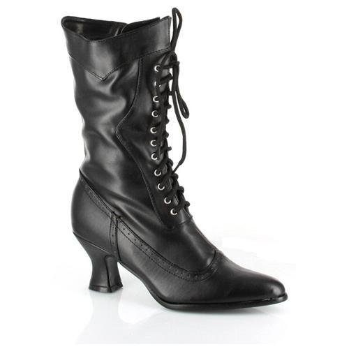 Women's Amelia Boot - Color: Black PU, Size: 7 1