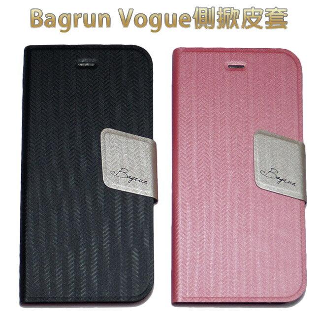 蘋果APPLE iPhone6 Plus Bagrun Vogue側掀皮套(神腦代理)