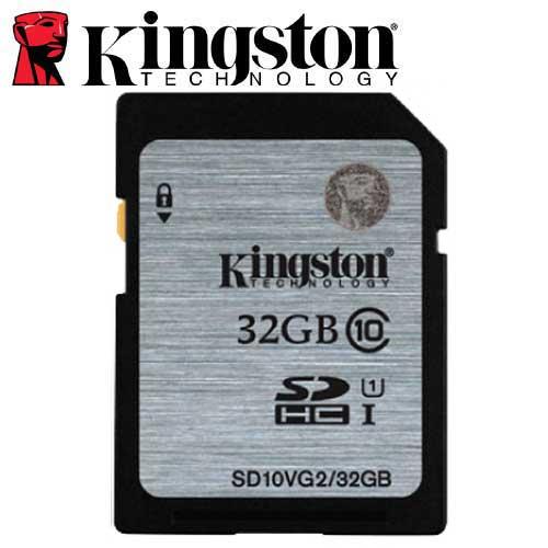 Kingston 金士頓 32GB 80MB/s SDHC SD UHS-I U1 C10 記憶卡