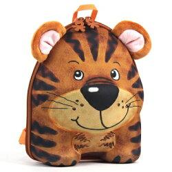 德國okiedog 兒童3D動物造型後背包-老虎