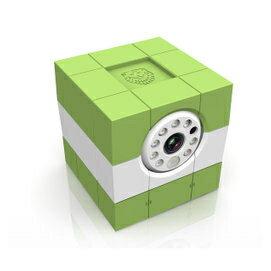 荷蘭Amaryllo愛瑪麗歐 iCam HD 360 全功能升級 無線網路攝影機 環保綠款 720P+256-bit加密+真雙向通話