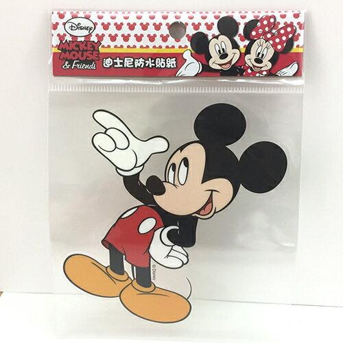 【真愛日本】13121100008 防水貼紙L-米奇 迪士尼 米老鼠米奇 米妮  行李箱裝飾貼紙