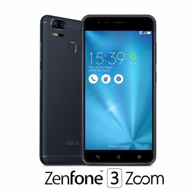ASUS ZenFone3 ZOOM ZE553KL(4G/64G)5.5吋雙鏡頭智慧機◆送防震保護套*1/Type C傳輸線*1/玻璃保護貼*1